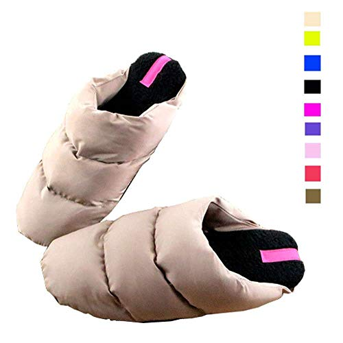 Slippers Women's Shoes Outdoor Fleece Warm Indoor Down Memory Foam Lined CtxwZqPt