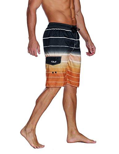 184b44cb5c3 Men Nonwe Mens Beachwear Summer Holiday Swim Trunks Quick Dry Striped