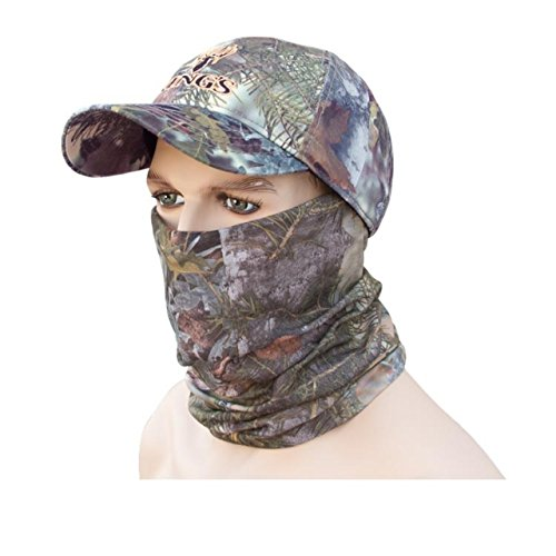 King's Camo Lightweight Head and Neck Gaiter, Mountain Shadow, One Size