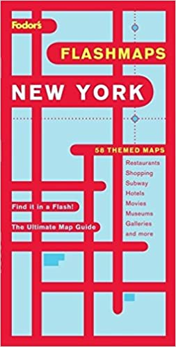 New York Subway Map 2008.Fodor S Flashmaps New York City 9th Edition The Ultimate Map Guide