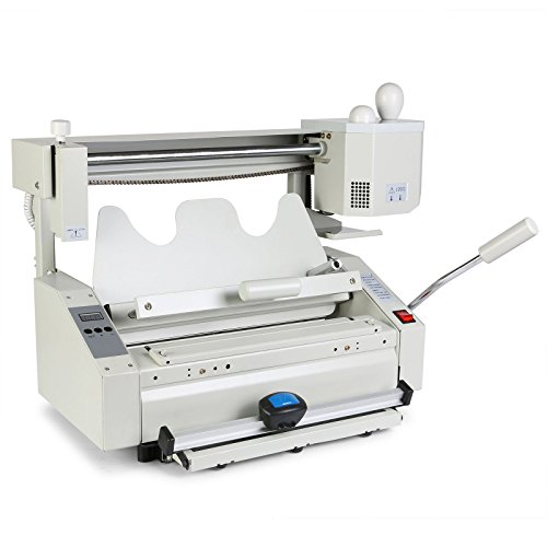 OrangeA Binding Machine Hot Glue Binder Manual Hot Melt Glue Book Binder (Best Manual Binding Machine)