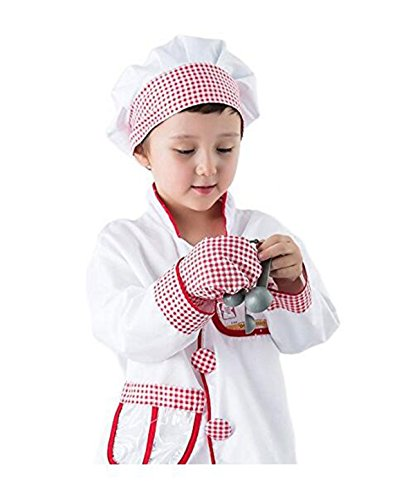 Fork And Spoon Costume (Chef Role Play Costume Set (3-6 Years))