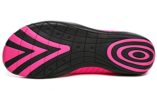 Nager Plongée Été Plage Sport Rose Homme Bain Pour Femme Chaussures Antidérapant de Surf Aquatique Respirant Chausson Gaatpot Chaussures xHPn8aq