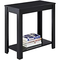 Crown Mark Pierce Side Table, Black