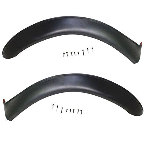 Koolzap For 00-04 Montero Sport Front Fender Flare Wheel Opening Trim Left & Right SET PAIR