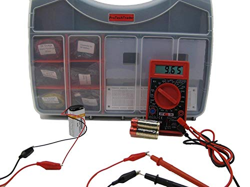 Ultimate Make: Electronics Kit Bundle - Includes All 3 Electronic Component Kits and Make: Electronics (2nd ED) Book by Charles Platt - STEM Electronics Science Education Set for Beginners Teen-Adult by ProTechTrader (Image #1)