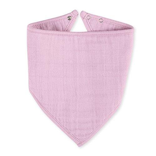 (aden + anais Classic Bandana Bib, Pink Mist)