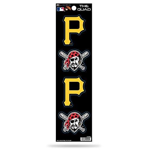 MLB Pittsburgh Pirates Quad Decal