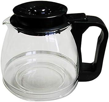 Tecnhogar 00566 - Jarra cónica universal para cafetera con tapa ...