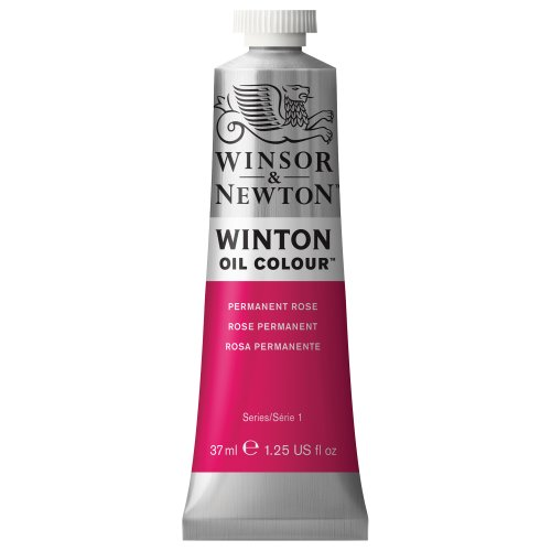 winton-oil-paint-37ml-tube-permanent-rose