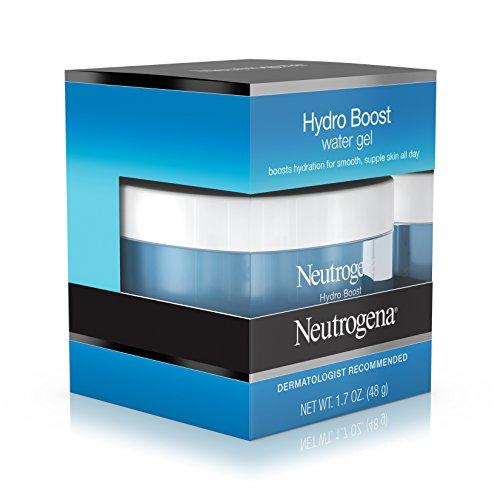 41mQtp3C2AL Neutrogena Hydro Boost Hyaluronic Acid Hydrating Water Face Gel Moisturizer for Dry Skin, 1.7 fl. oz