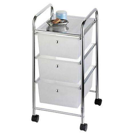 Baldas cajones con ruedas carrito estantería estante con ruedas estantería #743: Amazon.es: Hogar