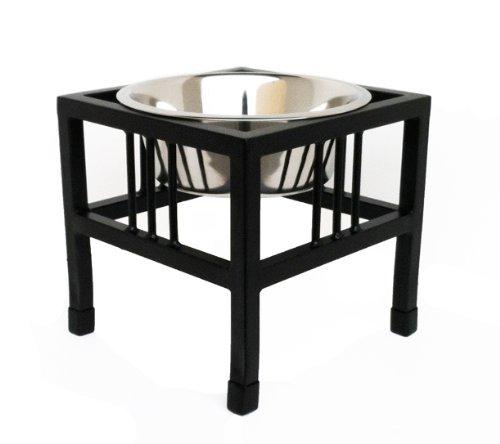 (Baron Single Bowl Dog Feeder - Elevated Diner - 10
