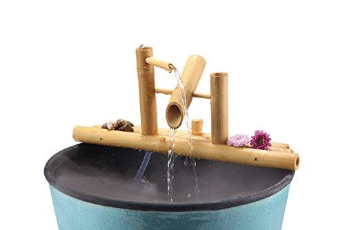 (Lifegard Aquatics R440861 Bamboo Rocking Complete with Pump and Tubing Fountain, 12