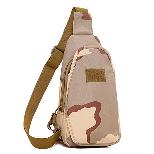 Pack Trekking Sports Camping Sansha Backpack Houyazhan Sling Camouflage Bolsos color Riding Chest Daypack Shoulder Digital Para Bag Multiuso Crossbody Rover Desert 8qE7wOq