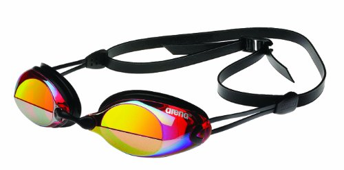 arena-x-vision-mirror-swim-gogglered-yellowone-size