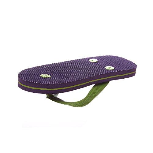 Flip Flip Flops Flops Verde Chanclas Flip Chanclas Flops Violeta Violeta Verde Chanclas ZBqF4nw