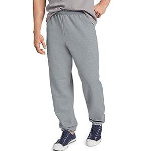 Hanes by ComfortBlend EcoSmart Men's Sweatpant_Light Steel_L