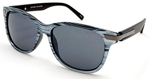 Unisex Modern Classic Wayfarer Sunglasses - Audrey & Fred Mambo - Sunglasses Audrey New