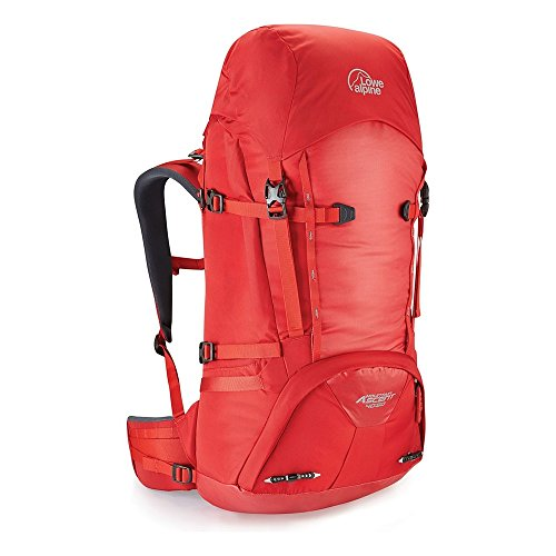 LOWE ALPINE MOUNTAIN ASCENT 40:50 BACKPACK (HAUTE RED)