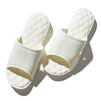 CWJDTXD Zapatillas de verano ¡Es demasiado bueno para usar! Cómodas zapatillas de un solo