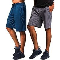2-Pack CYZ Mens Performance Running Shorts
