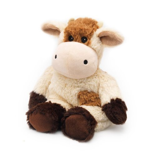 Cozy Plush Cow Microwaveable Soft Stuffed Animal Toy