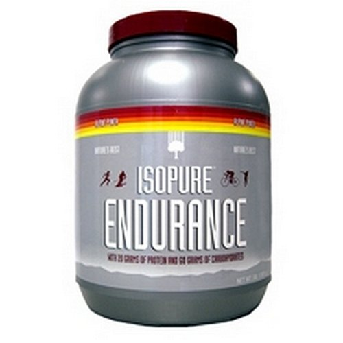 Natures Best Isopure Endurance, Alpine Punch, 3-Pound Tub by Nature's Best