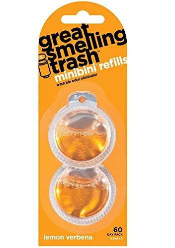 Minibini Mrs002-us Lemon Verbena Odor Eliminator Refill, 4.5 Ml (Pack of 14)