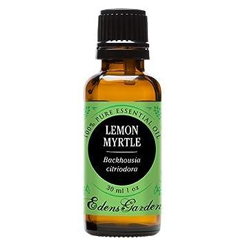 amazon com edens garden lemon myrtle essential oil, 100% pureedens garden lemon myrtle essential oil, 100% pure therapeutic grade (highest quality aromatherapy