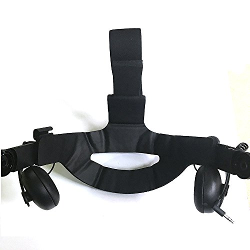 Kecuco VR Headset Leather Foam VR Audio Strap Cushion foam replacement for HTC Vive Deluxe Audio Strap Cushion Original