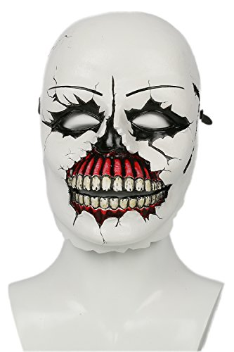 [XCOSER Psycho Josh Mask Horrible Halloween Cosplay Props Soft Resin] (Famous People Costumes For Halloween)