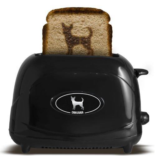 Pangea Brands TSTE-PET-CHU 2-Slice Pet Emblazing Toaster, Chihuahua