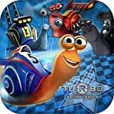 Turbo the Movie Party Dinner Plates - 8 count by Hallmark