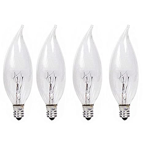 Phillips 167197 25 Watt DuramaxTM Bent Tip Chandelier Light Bulb 4 ...