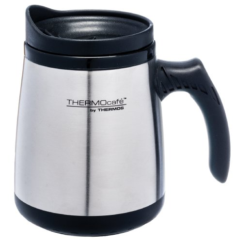 Thermos Stainless Insulated 15 Ounce Silver
