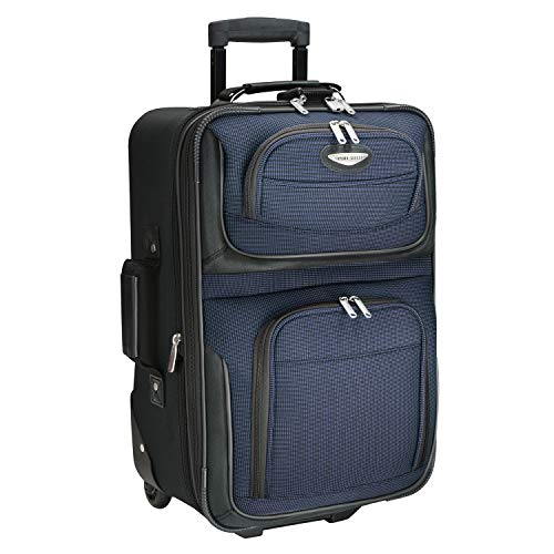 (Traveler's Choice Travel Select Amsterdam Expandable Carry-on Rolling Upright,)