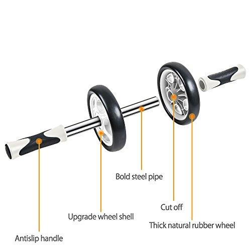 freetoo roue abdominaux ab wheel ab roller de fitness et. Black Bedroom Furniture Sets. Home Design Ideas