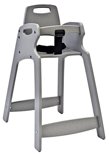Koala Kare KB833 09 Eco Plastic High Chair Brown 24 Height 18 Width 31 Length
