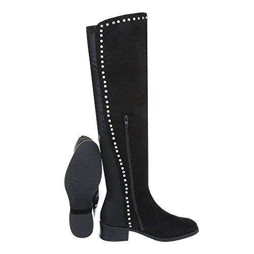 Bottes Ital et Cuissardes Bottes Bloc Femme Design Chaussures Bottines qqUwHtC