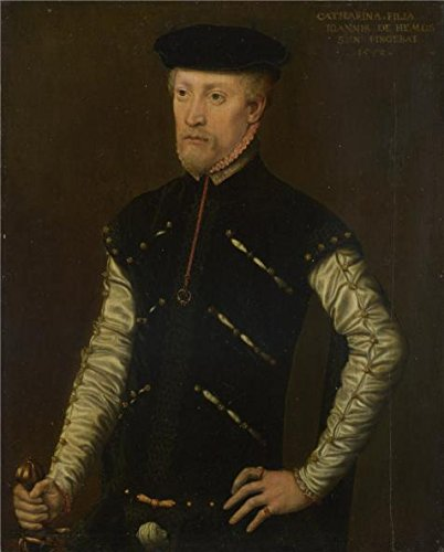 The Perfect Effect Canvas Of Oil Painting 'Catharina Van Hemessen - Portrait Of A Man,1552' ,size: 18x22 Inch / 46x57 Cm ,this Vivid Art Decorative Prints On Canvas Is Fit For Foyer Gallery Art And Home Decoration And Gifts - Tar Man Zombie Costume