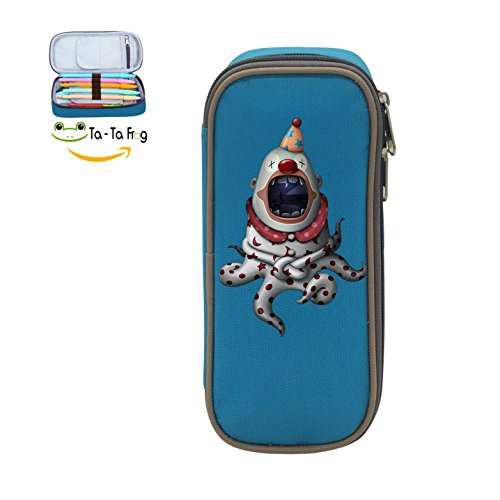 Fymanlu Clown Octopus Big Capacity Pencil Case Bag for sale  Delivered anywhere in USA