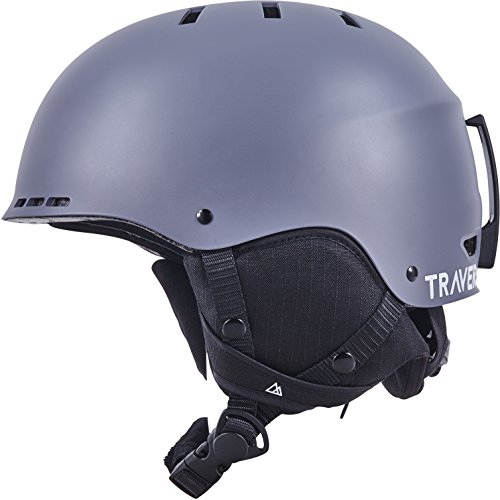 Traverse Vigilis 2-in-1 Convertible Ski & Snowboard/Bike & Skate Helmet with 10 vents, Matte Ash, Large/X-large (56-60cm) For Sale