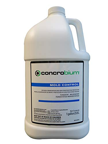 Concrobium Mold Control Household Cleaners, 1 Gallon (Best Cleaning Solution For Mold)