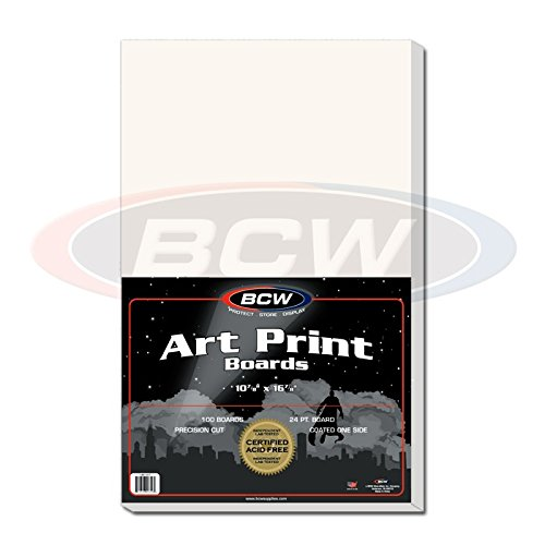 BCW 1-BB11X17 Bcw 11X17 Art Print Backing Boards