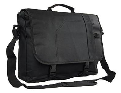a104fa5a6d Chervi Lane Messenger Satchel Briefcase Travel Work College School Shoulder  Bag (Black)