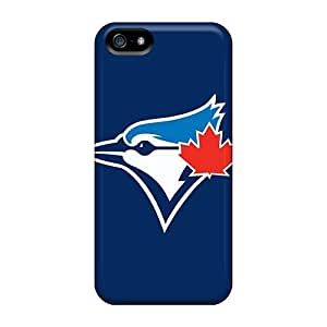 DateniasNecapeer Iphone 5/5s Well-designed Hard Cases Covers Baseball Toronto Blue Jays 3 Protector