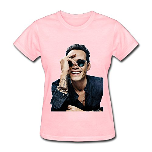 Hot Marc Anthony 2016 Tour T Shirt For Women Anthony Graphic T-shirt