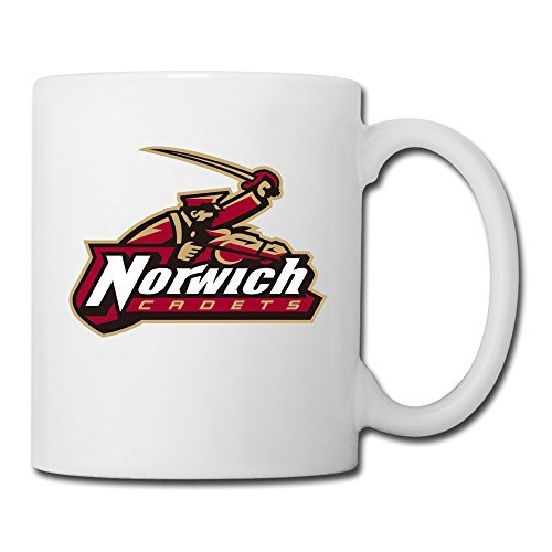White Norwich University Sab04Fl Ceramic Papa Mug 11oz Unisex Printed On Both Sides