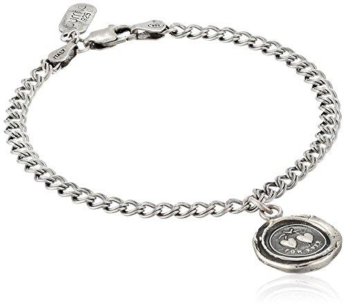 Pyrrha Hearts Talisman Charm Bracelet